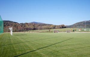 Fotbalové hřiště s přírodní trávou